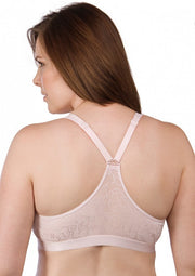 Leading Lady Crossover Front Closure Racer Back Leisure Bra - 5048