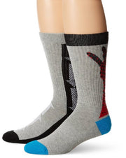 K. Bell Socks Men's 2 Pack Hand and Arrows Tech Crew Sock One Size - KCMF14H026-02