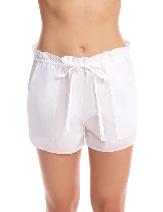 Commando Cotton Voile Pleated Short - CV101