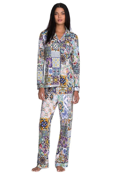 Johnny Was Long Pajama Set - MS8221-M