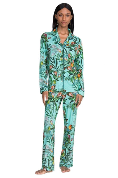 Johnny Was Taina Long Pajama Set - MS8221-T