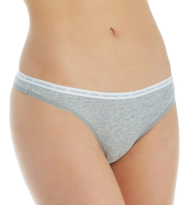Calvin Klein CK One Cotton Thong - QD3783