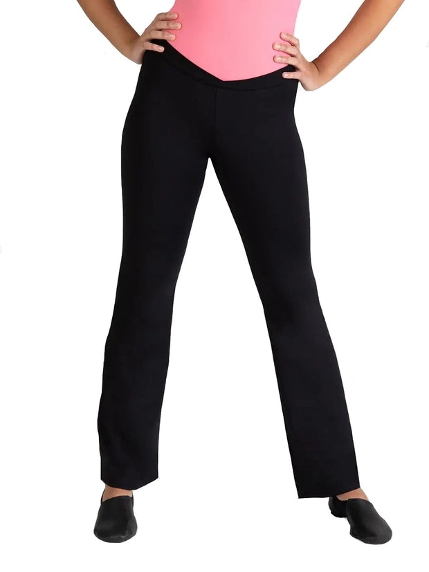 Capezio Studio Collection Cross Front Pant - SE1052W