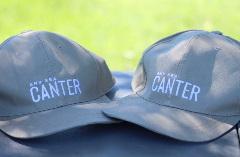 Canter And Sea Buckskin Cap