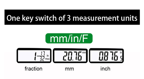 image of 6 inch digital caliper 3 modes