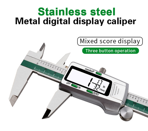 image of 6 inch stainless steel digital caliper