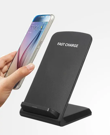 ChargeFast Wireless Charger Image of Charger In Use