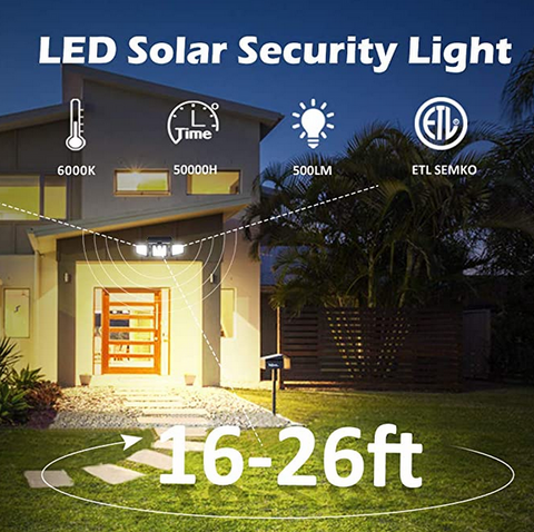 image of SolarStar Outdoor Solar Lights Features