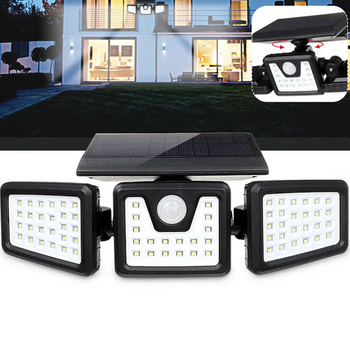 SolarStar Outdoor Solar Lights - Use As Solar Garden Lights, Solar Deck Lights, Solar Yard Lights & Solar Security Lights - Super Bright LED Solar Lights (70 LEDs) With PIR Motion Sensor
