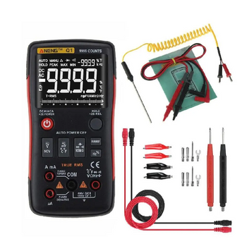 Multimeter - Digital Multimeter True RMS AC DC Voltage Current Resistance  & Many Other Functions