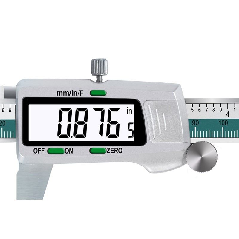 image of digital caliper display