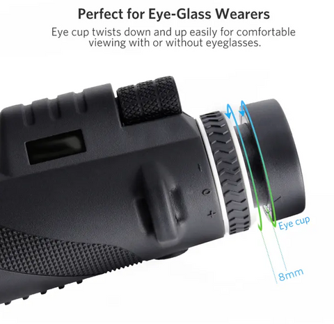 image of LockWatch™ Monocular easy zoom