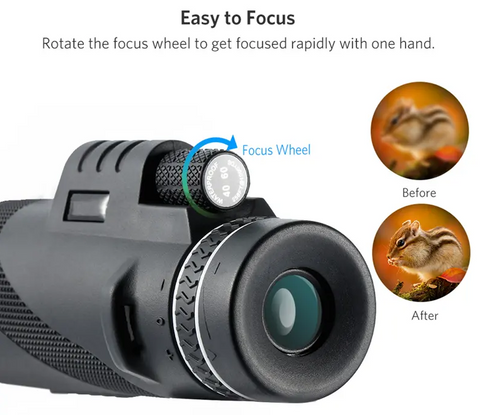 image of LockWatch™ Monocular easy focus