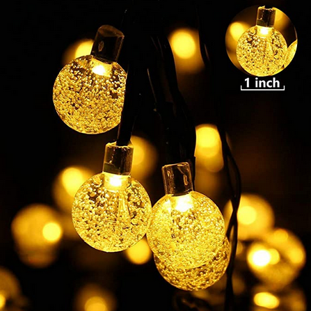 SolarStar™ LED String Lights bulb detail