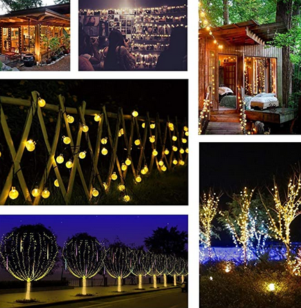 SolarStar™ LED String Lights uses