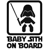 Baby Sith on Board 25+ colors and multiple sizes, sticker decal .