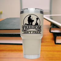 Freedom Isn't Free 25+ colors and multiple sizes, sticker decal .