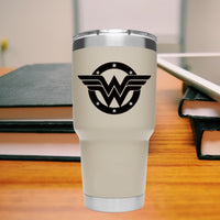 Wonder Woman 25+ colors and multiple sizes, sticker decal .