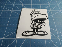 Marvin the Martian 25+ colors and multiple sizes, sticker decal .
