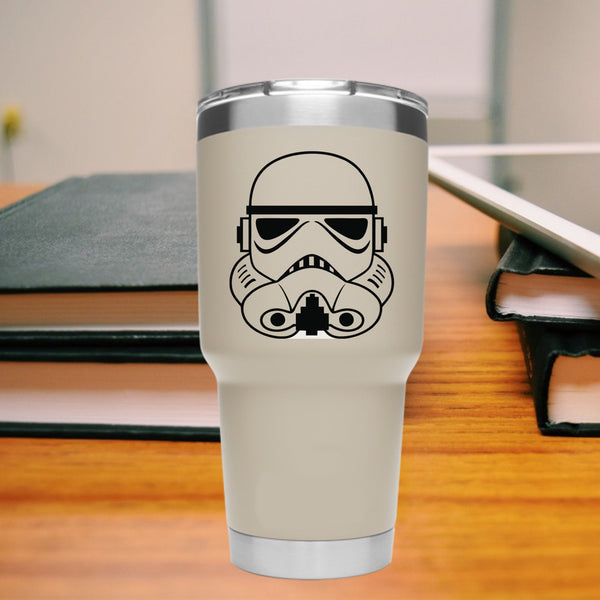 Storm Trooper 25+ colors and multiple sizes, sticker decal .