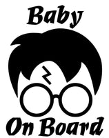 Harry Potter Baby 25+ colors and multiple sizes, sticker decal .