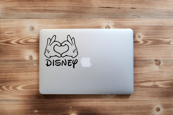 Disney Love 25+ colors and multiple sizes, sticker decal .
