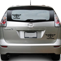 ToYoda Toyota Star Wars Yoda 25+ colors and multiple sizes, sticker decal .