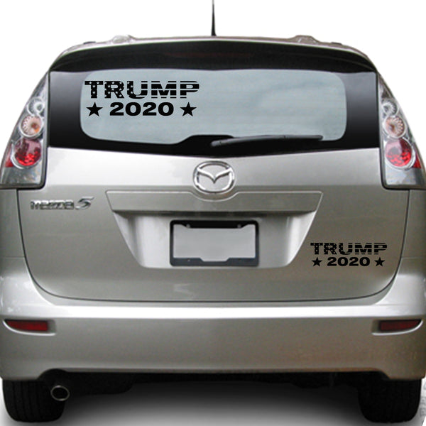 TRUMP 2020 , 35+ colors - multiple sizes, sticker decal .
