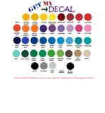 Disney Mom Ears 25+ colors and multiple sizes, sticker decal .