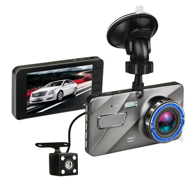 Record X™ Dual Lens Car DVR Dash Cam Full HD Front Rear Recorder
