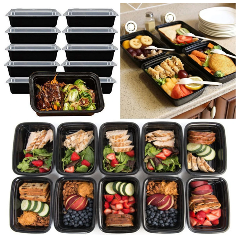 UltimateFix10™ Best Reusable Meal Prep Containers Microwave Safe