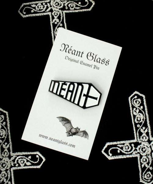 Néant Coffin Original Enamel Pin