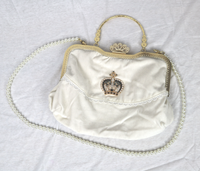 Crown Pearl Handbag