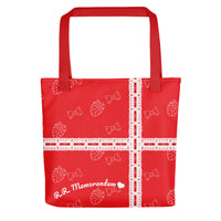Summer Strawberry Printed Tote