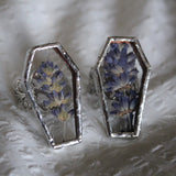 Néant Glass x RRM Lavender Coffin Ring