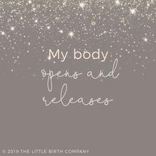 Load image into Gallery viewer, Positive Pregnancy & Birth Affirmation Cards
