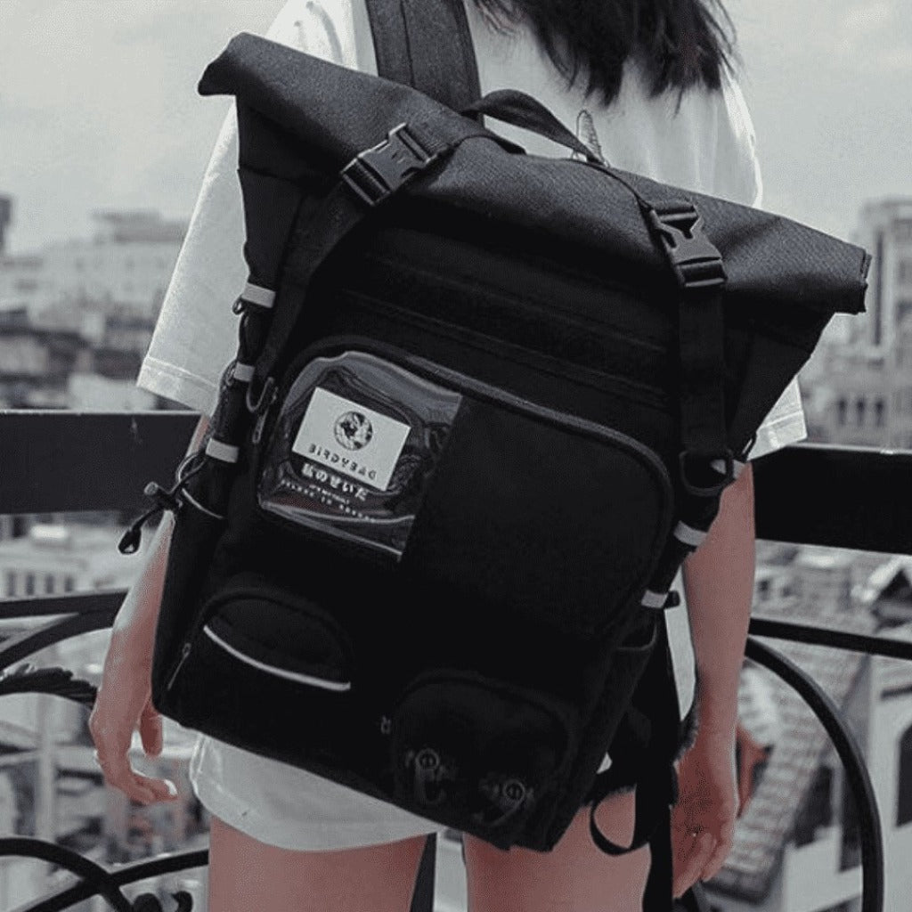 Roll Top BackPack - BirdyBag