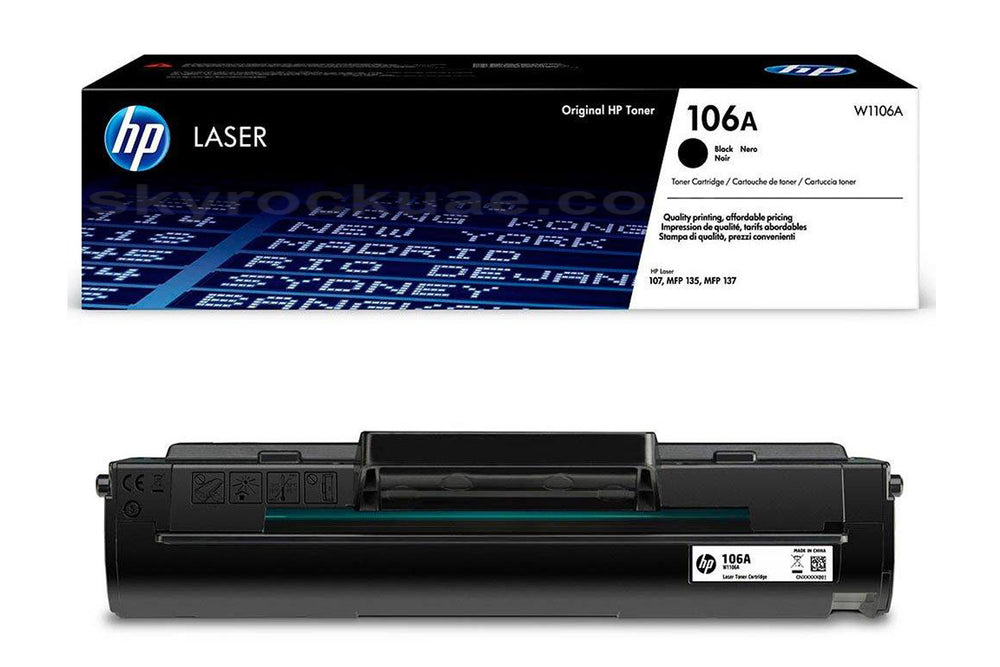 HP 106A Toner Cartridge W1106A for HP Laser 107 MFP135 MFP137