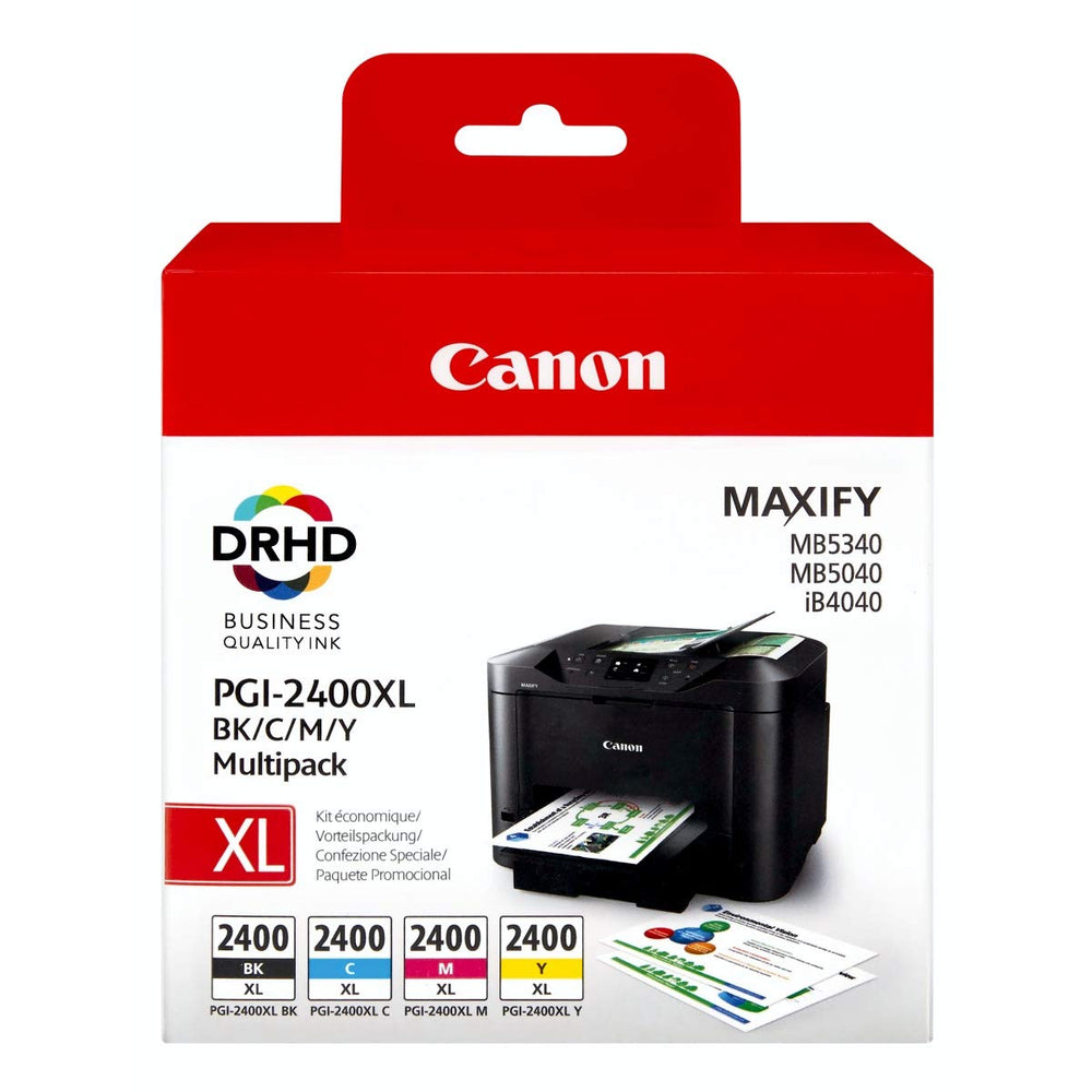 Canon 2400XL Multipack Ink Cartridge