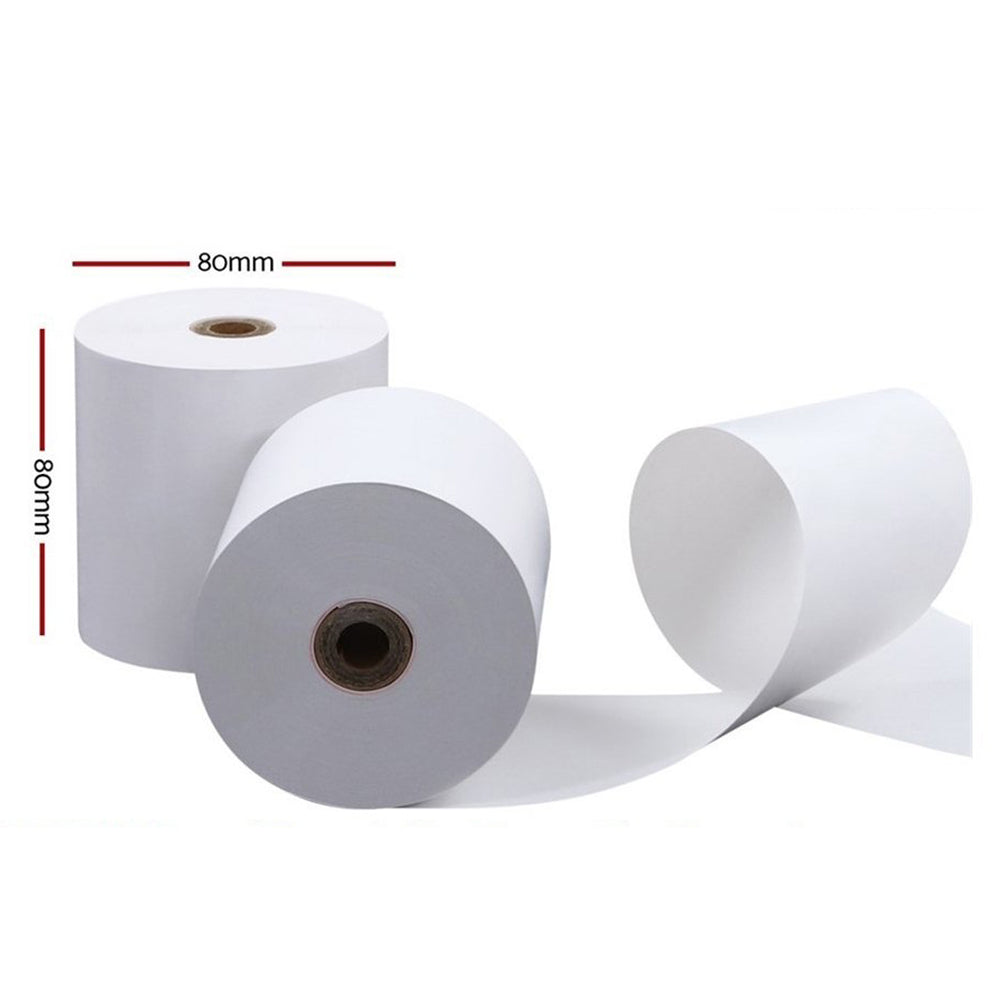"Thermal Roll for POS Printer  80mm x 80 mm with 1/2"" core"