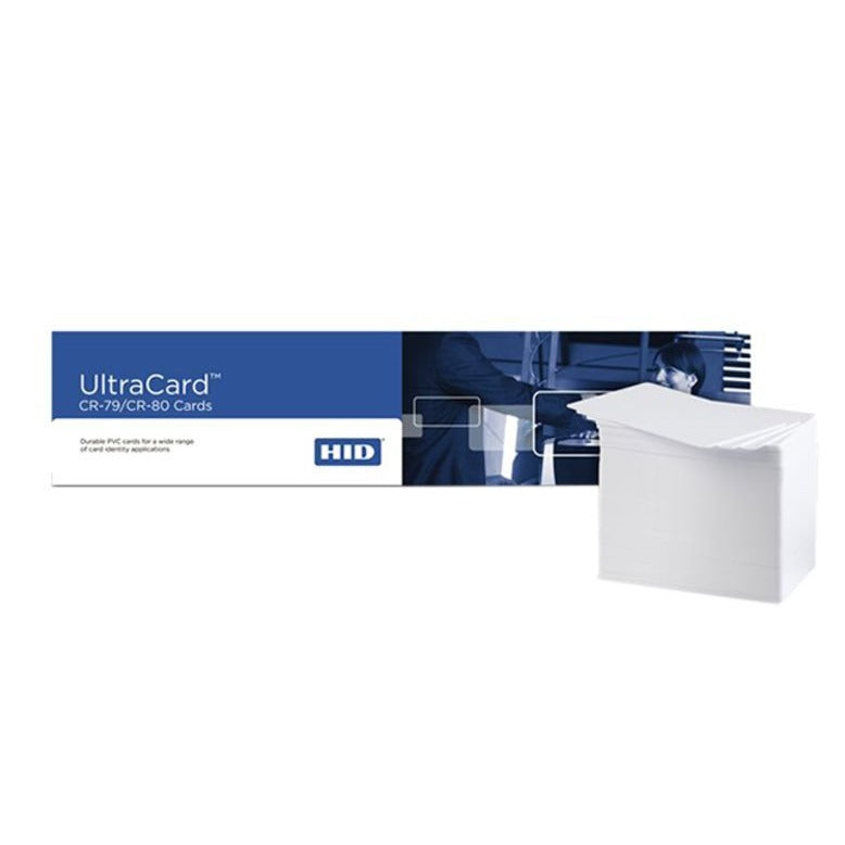 HID CR79 CR80 Ultra Card For ID Card Printers - Box Of 500 Cards