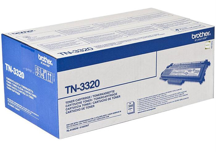 Brother TN-3320 Toner Cartridge for  HL-5440D, HL-5450DN, MFC-8510DN, MFC-8910DW