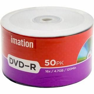 Imation DVD-R 4.7GB 50pcs Bulk