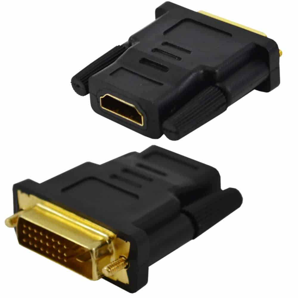 DVI Male to HDMI Female Adapter