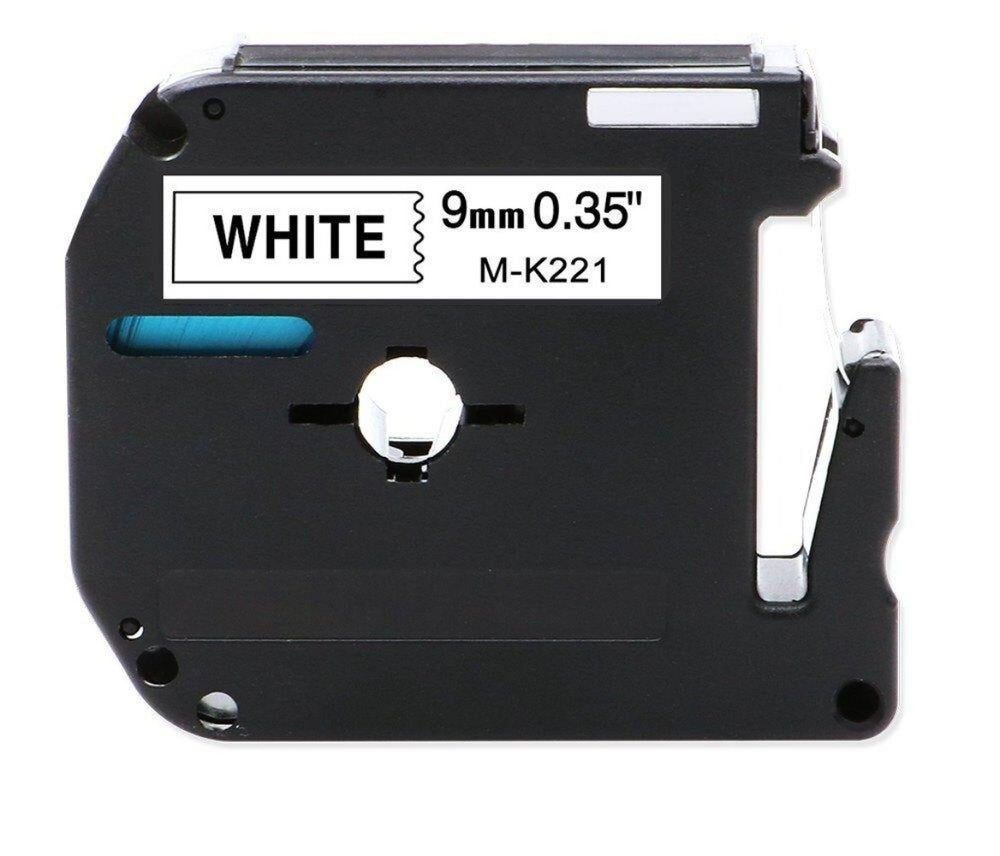 SKY 9mm x 8 meter Thermal M Tape Cartridge for Brother P-Touch Label Printers