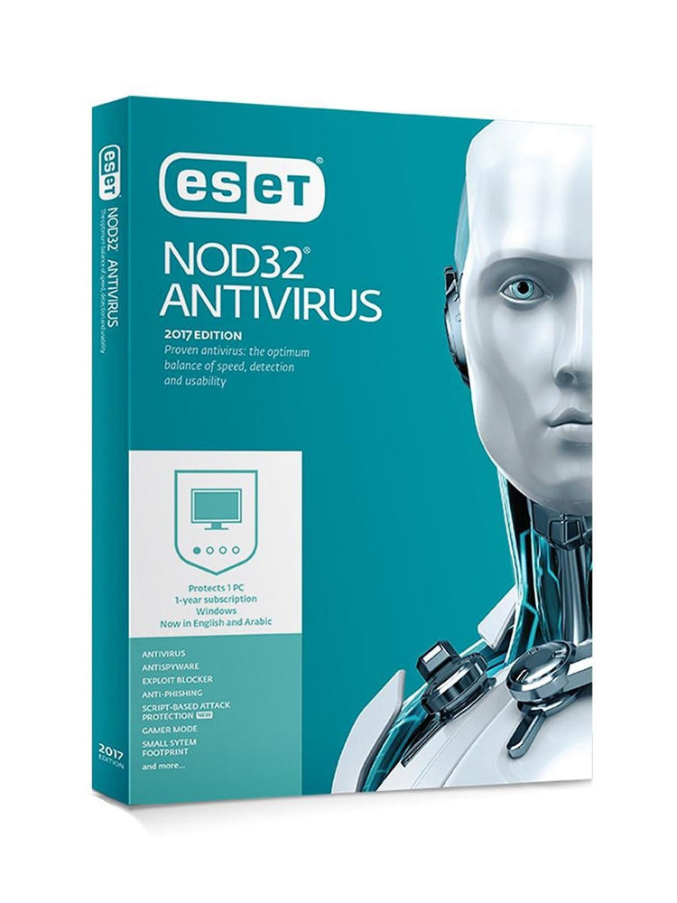 ESE NOD 32 Anti Virus  2 Devices  / 1 Year