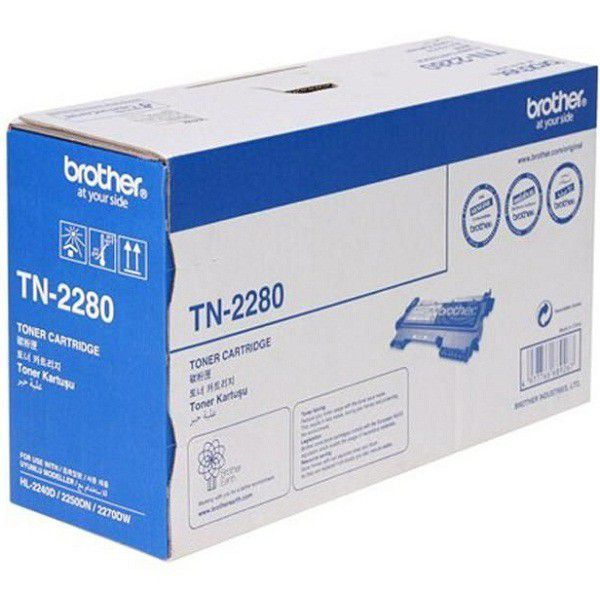 Brother TN-2280 High Capacity Toner Cartridge for HL-2250 2240D DCP-7060D, 7065DN, MFC-7360 7860DW and FAX-2840