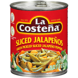 LA COSTENA JALAPENO SLICED 28OZ
