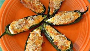 Jalapeno Cream Cheese Poppers 10pcs