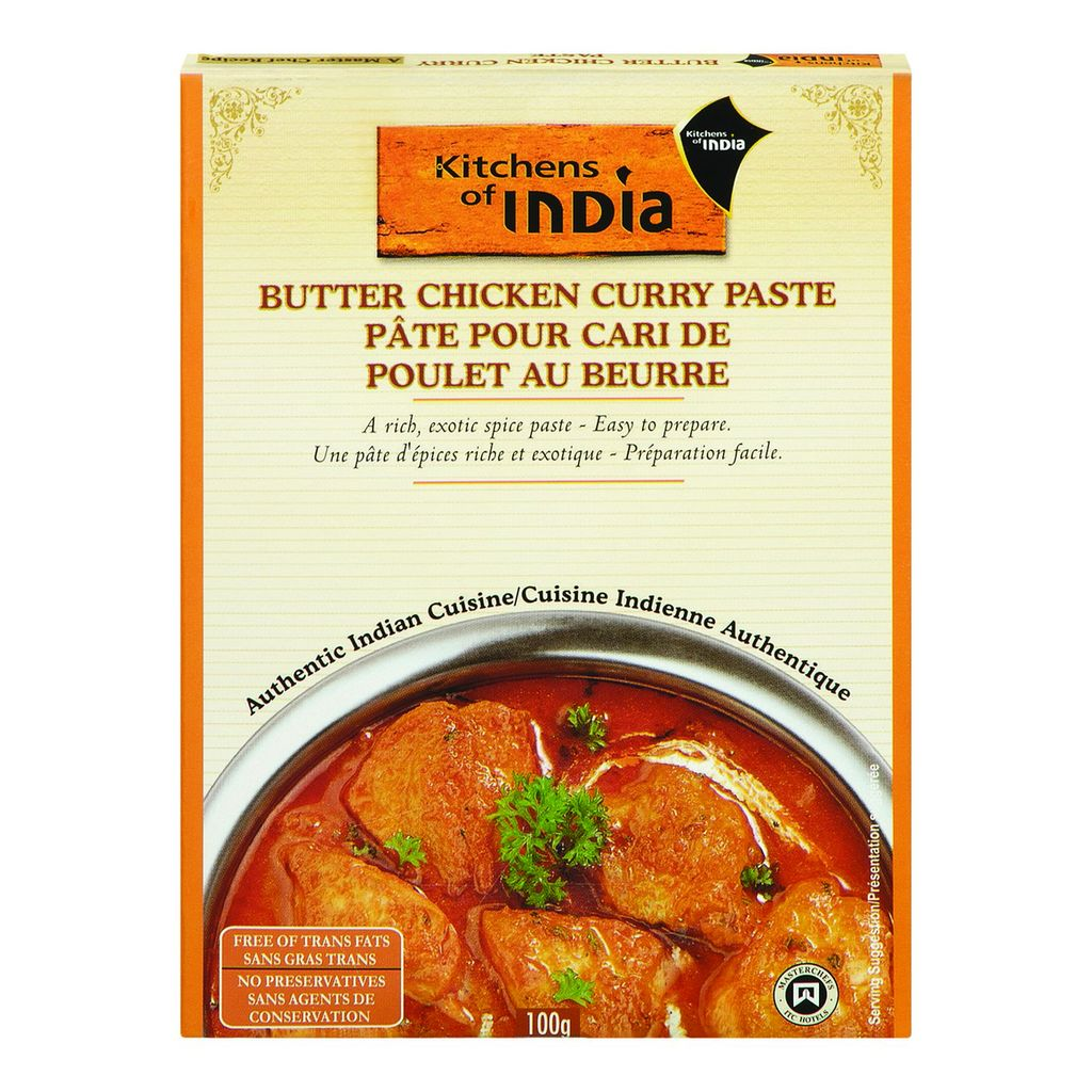 Kitchens of India Butter Chicken Curry Paste, 100 g